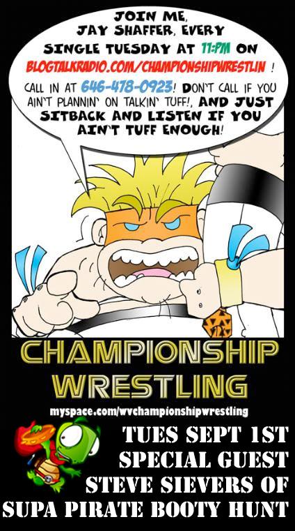 SPBH on Championship Wrestlin Radio