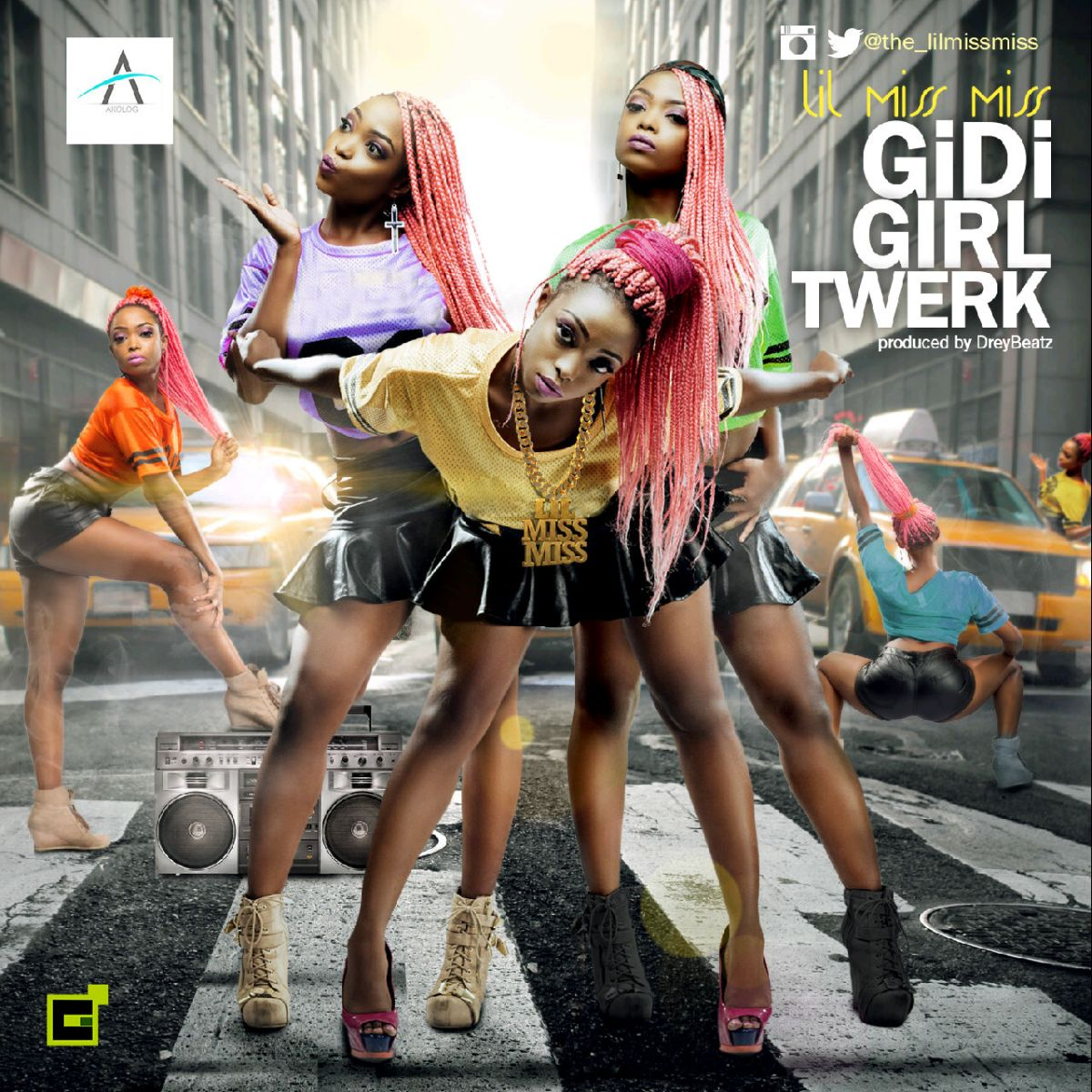 The Lil Miss Miss - Gidi Girl Twerk
