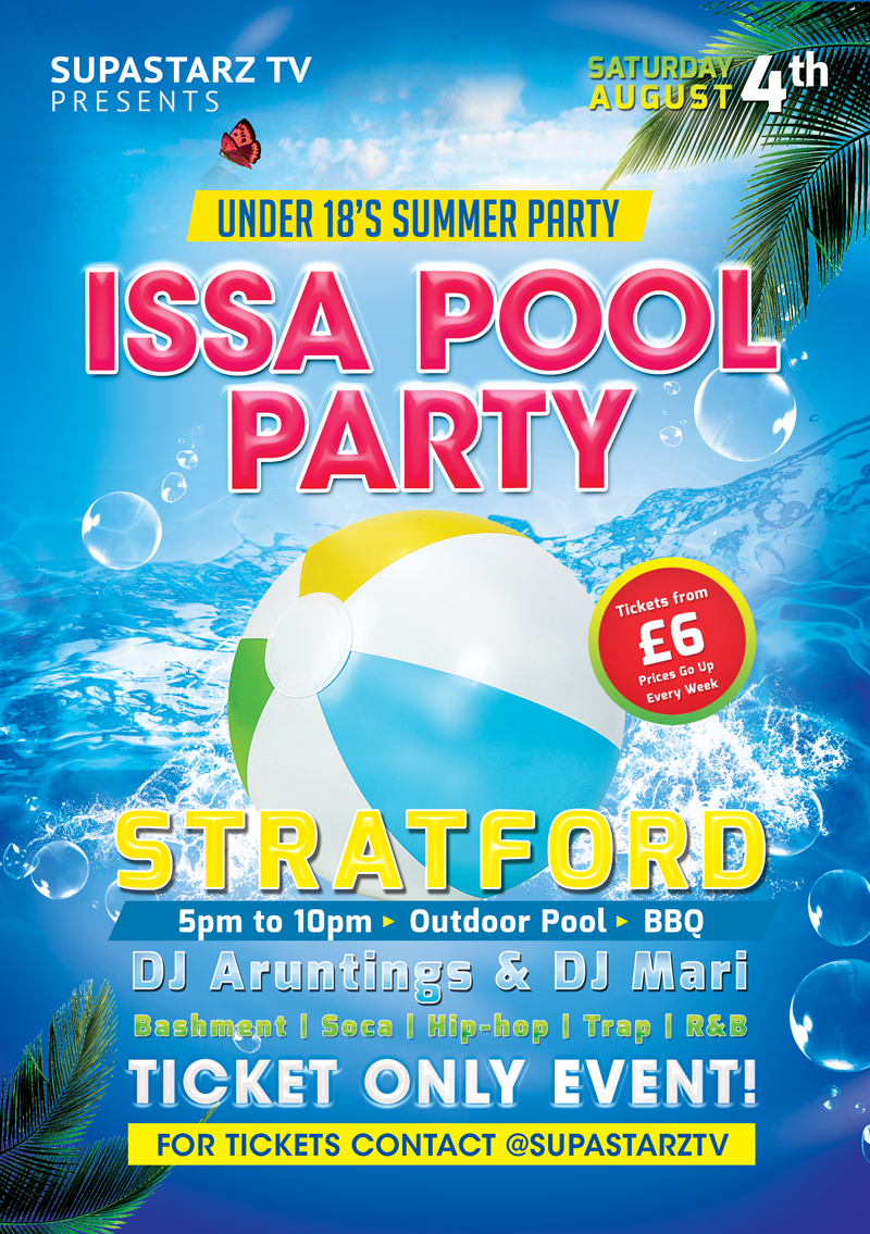 The MOTIVE this summer for U18s - Issa POOL PARTY