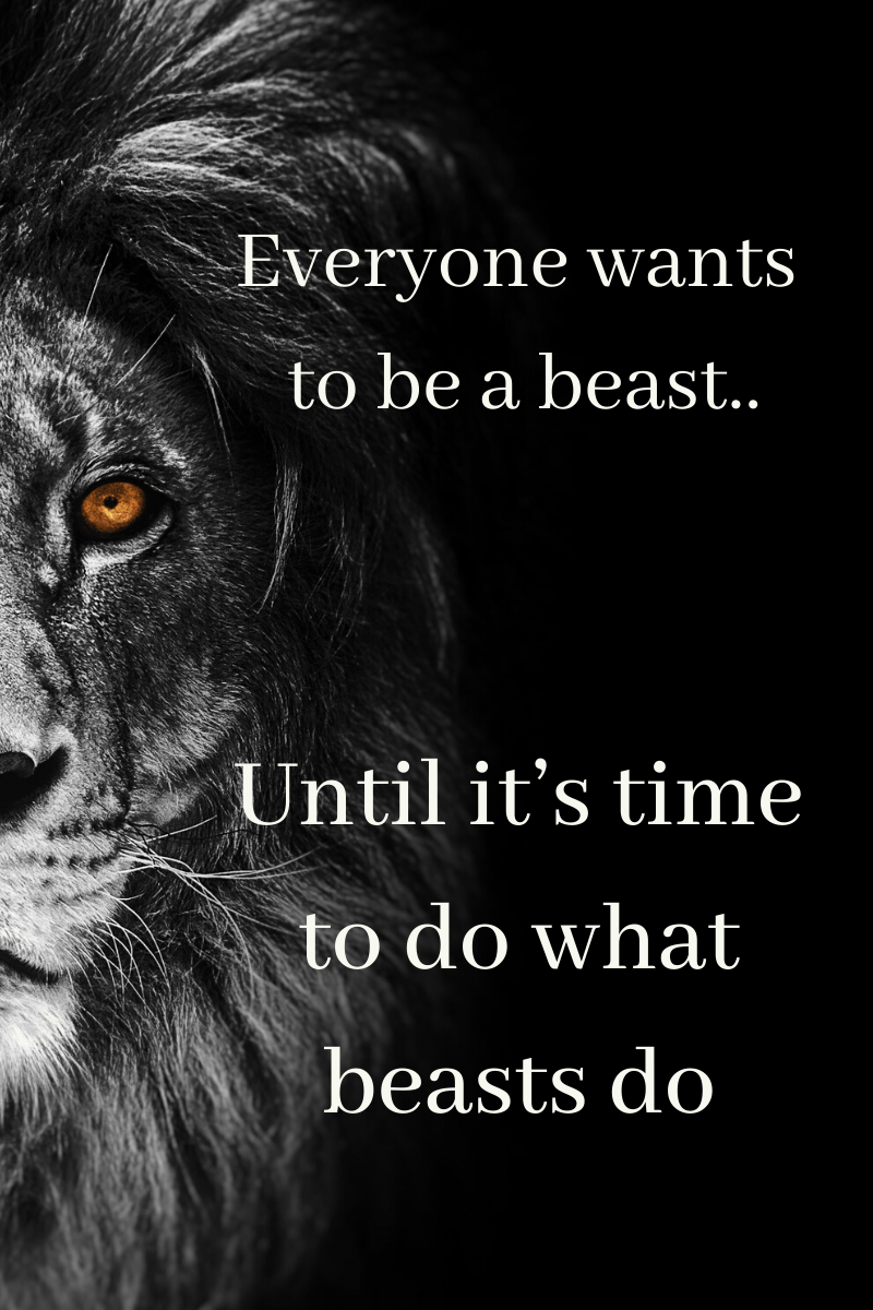 badass beast quotes