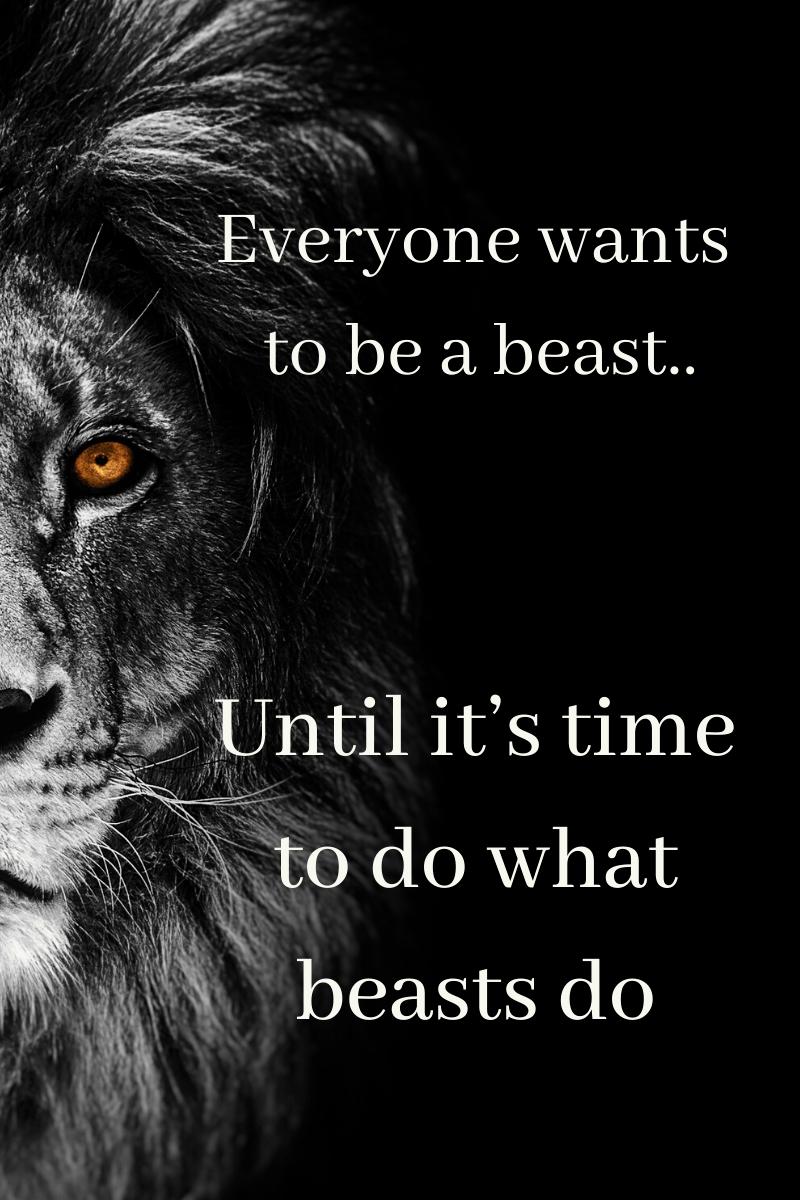 badass beast quotes