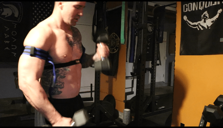 how to get bigger arms with BFR Bands