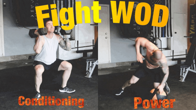 hiit home workout mma