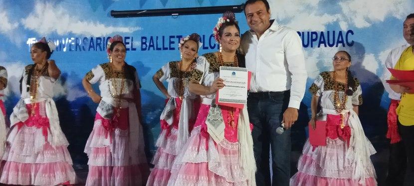 Aniversario del Ballet Folclórico del SUPAUAC