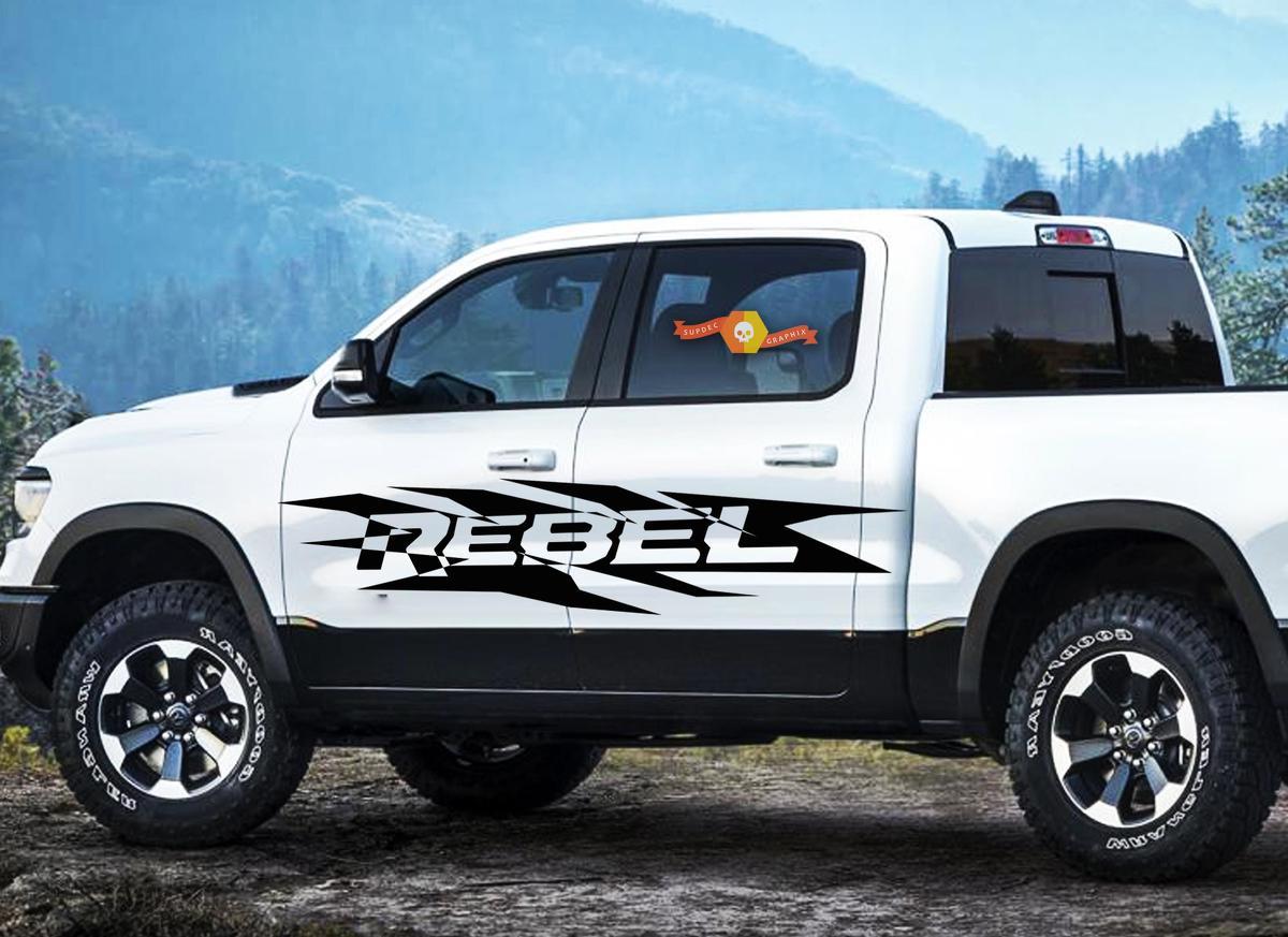 Product Dodge Ram Hemi Rebel 1500 2500 3500 2x Decals