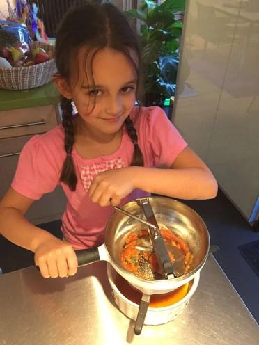 Etape 4 - mouliner les tomates