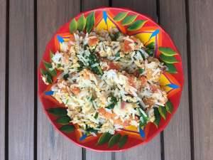 Riz au thon et aux épinards de Super Boîte à Lunch