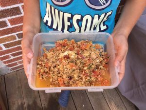 recette de thon à la tomate pour boîte à lunch