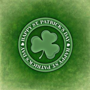 trèfle irlandais