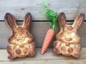 les lapins des pâques de super boîte à lunch