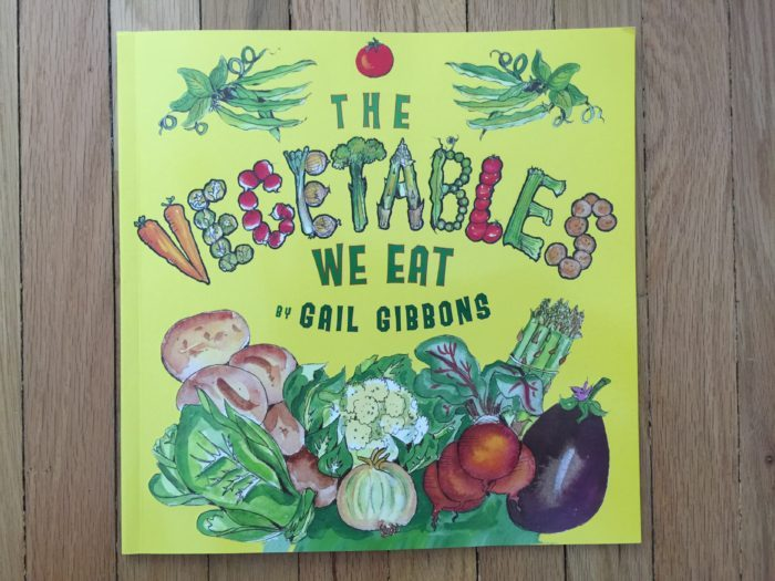 Le livre du mois : The vegetables we eat