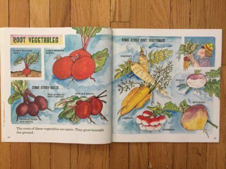 Livre The vegetables pour Super Boîte à Lunch