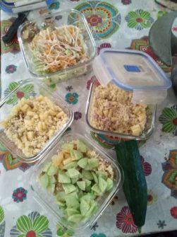 Boîte à lunch de Laetitia