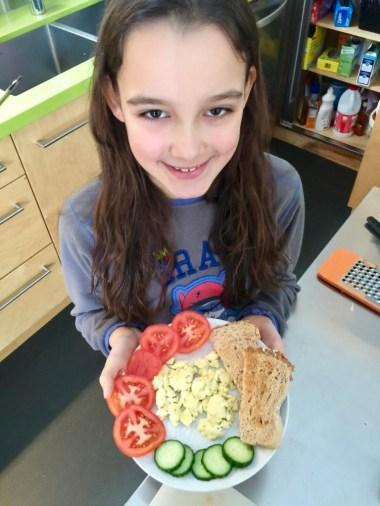 les super petit-déjeuners de loulou pour Super Boîte à Lunch