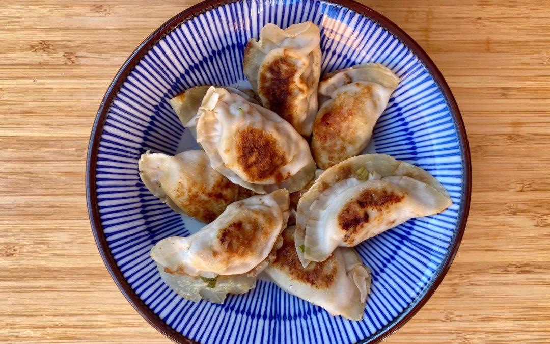 Les dumplings de loulou pour Super Boîte à Lunch