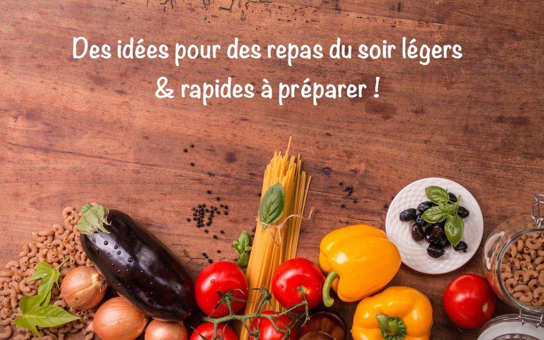 Idées de repas légers pour le soir par Super Boîte à Lunch