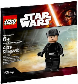 First Order General - Polybag Lego Star Wars 5004406