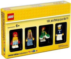 4 Figurines Exclusives - LEGO Toys 'R Us 5004941