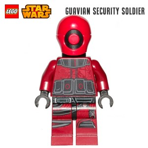 Minifigure LEGO® Star Wars - Guavian Security Soldier