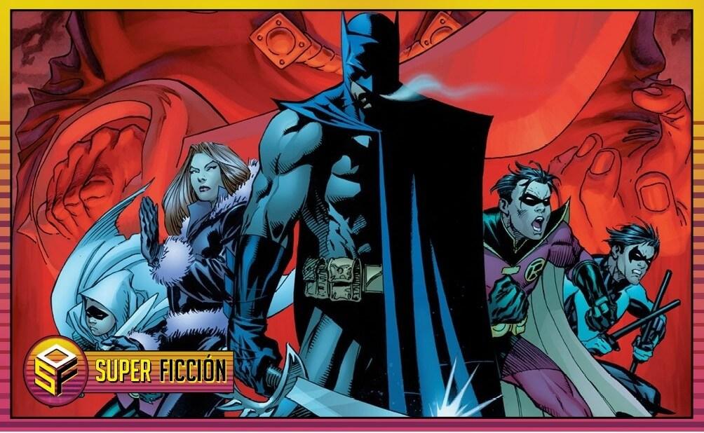 portada la resurreccion de ra's al ghul, del batman saga de Grant Morrison