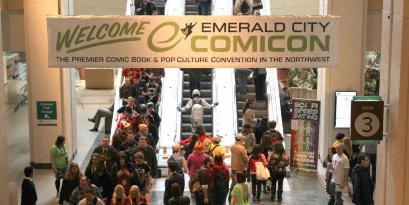 Banner de la ECCC convención a la cuál DC no va