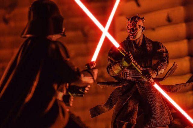 Maul vs Vader