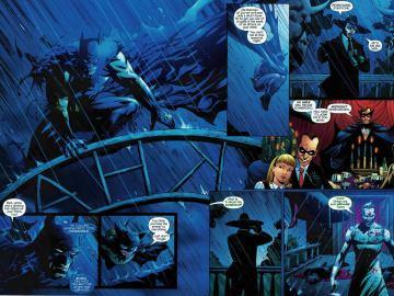 Página del Batman RIP