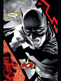 pagina batman morrison guante negro