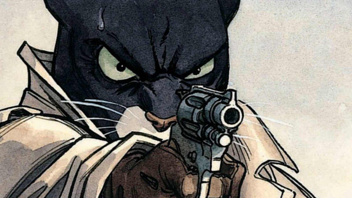 blacksad el género noir hecho viñetas