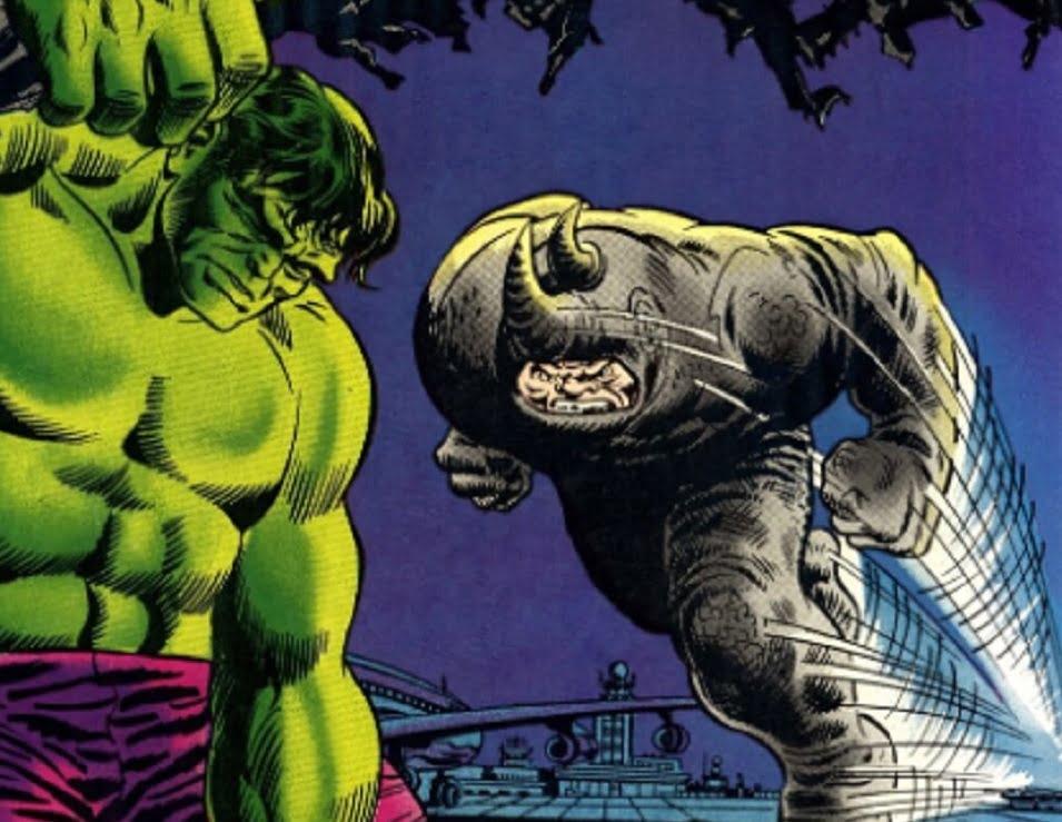 Hulk contra Rhino