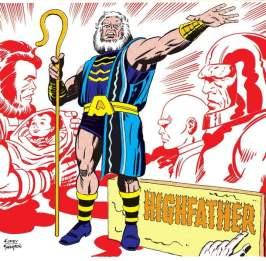 Highfather guía nuevos dioses