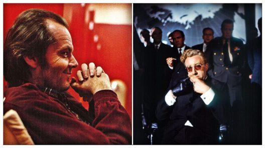 Jack Nicholson y Peter Sellers