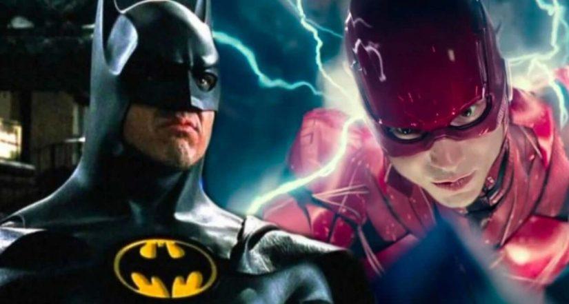 Keaton batman flash