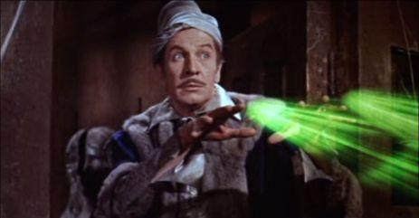 Vincent Price en El Cuervo de Roger Corman
