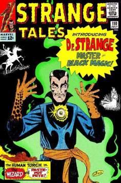 Portada de la primera aparición de Dr. Strange