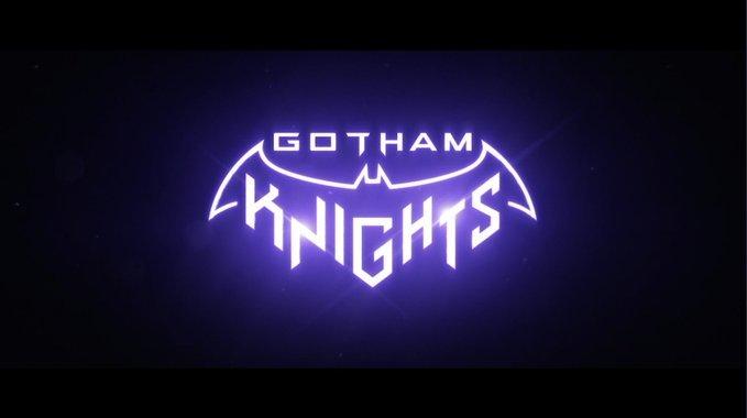 Logo Batman Gotham Knights