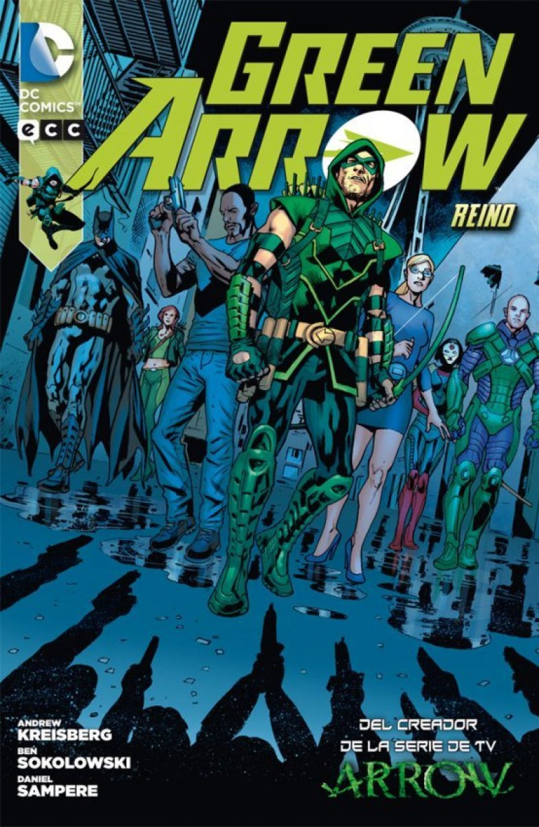 Green Arrow Daniel Sampere