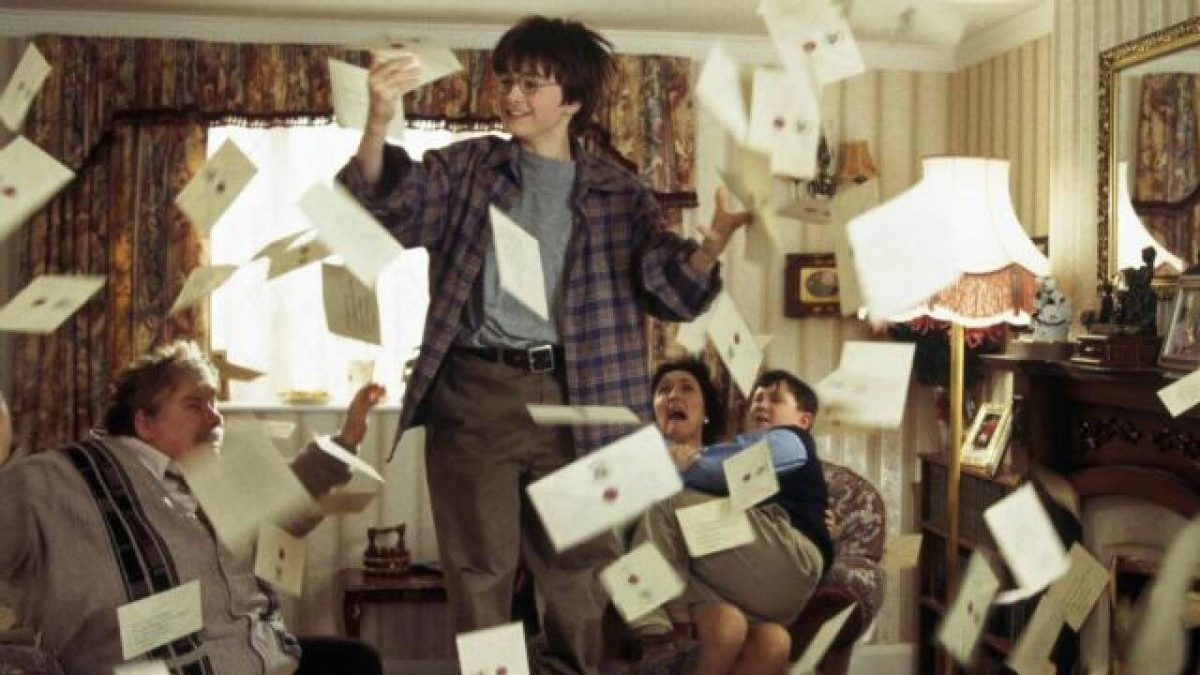 Carta personalizada Hogwarts