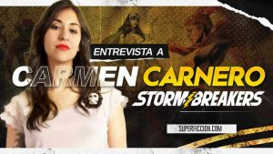 Carmen Carnero Marvel Cómics