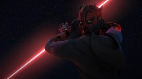 en que capitulos de star wars rebels sale darth maul
