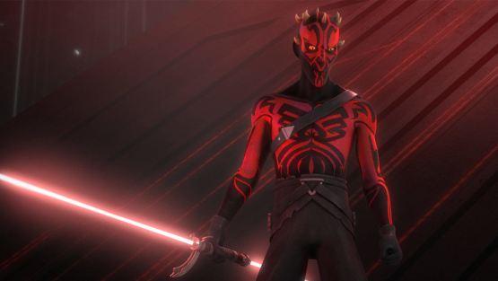 ¿cuándo aparece darth maul en star wars rebels?