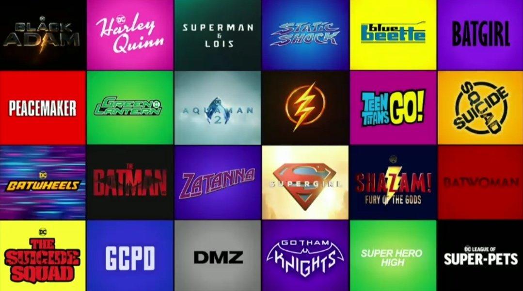 Próximos estrenos DC