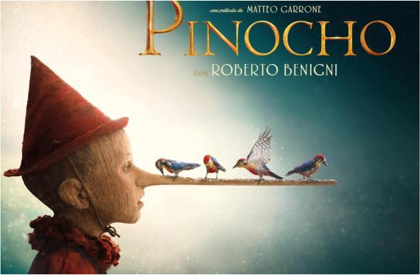Pinocho, la nueva versión del libro italiano ha obtenido dos nominaciones a los Oscars 2021