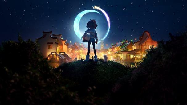 Over the Moon, es otra de las. películas nominada al Oscar de Mejor Película de Animación