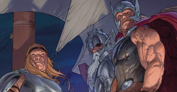 """Versiones de Thor en """"Thor God of Thunder"""""""