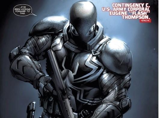 agent venom flash thompson