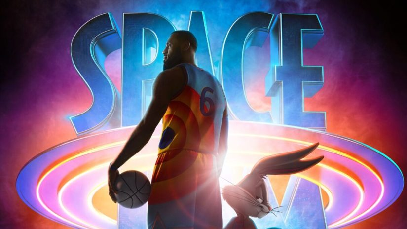 Lebron James en Space Jam A New Legacy secuela de Space Jam
