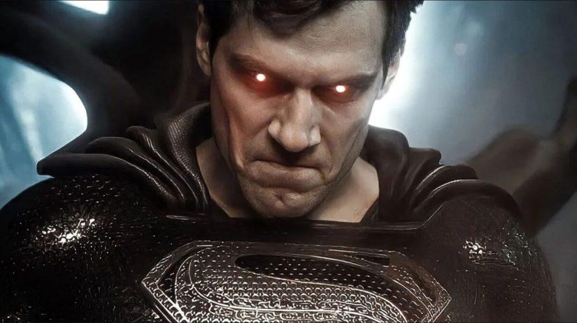 Super Man Black Suit Snyder Cut