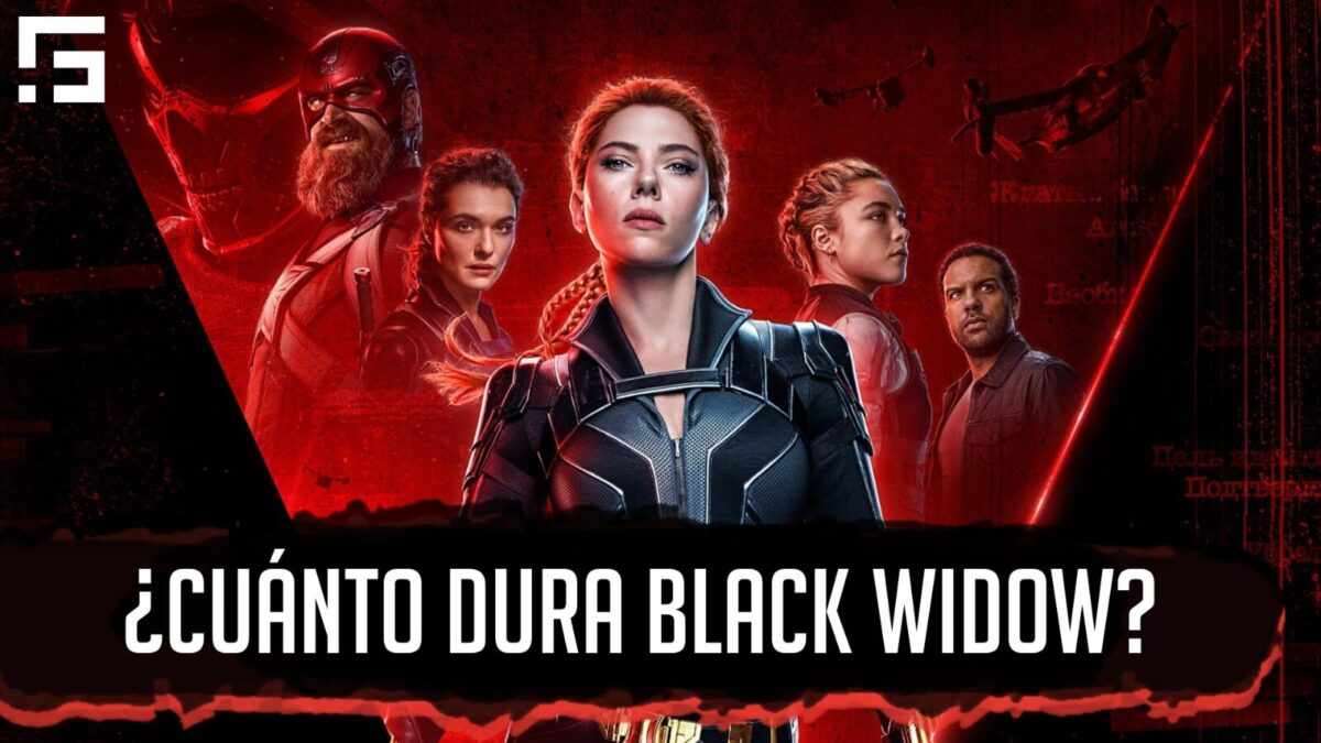 cuánto dura black widow