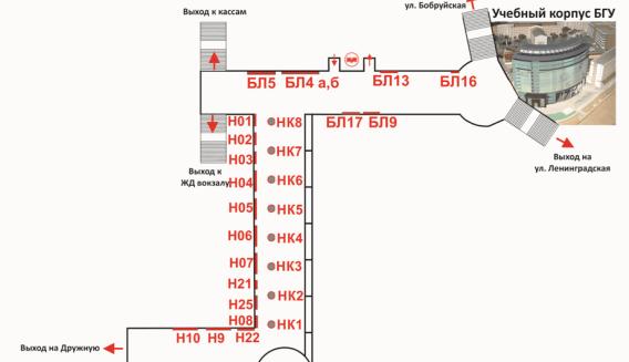 Схема размещения рекламного места П32